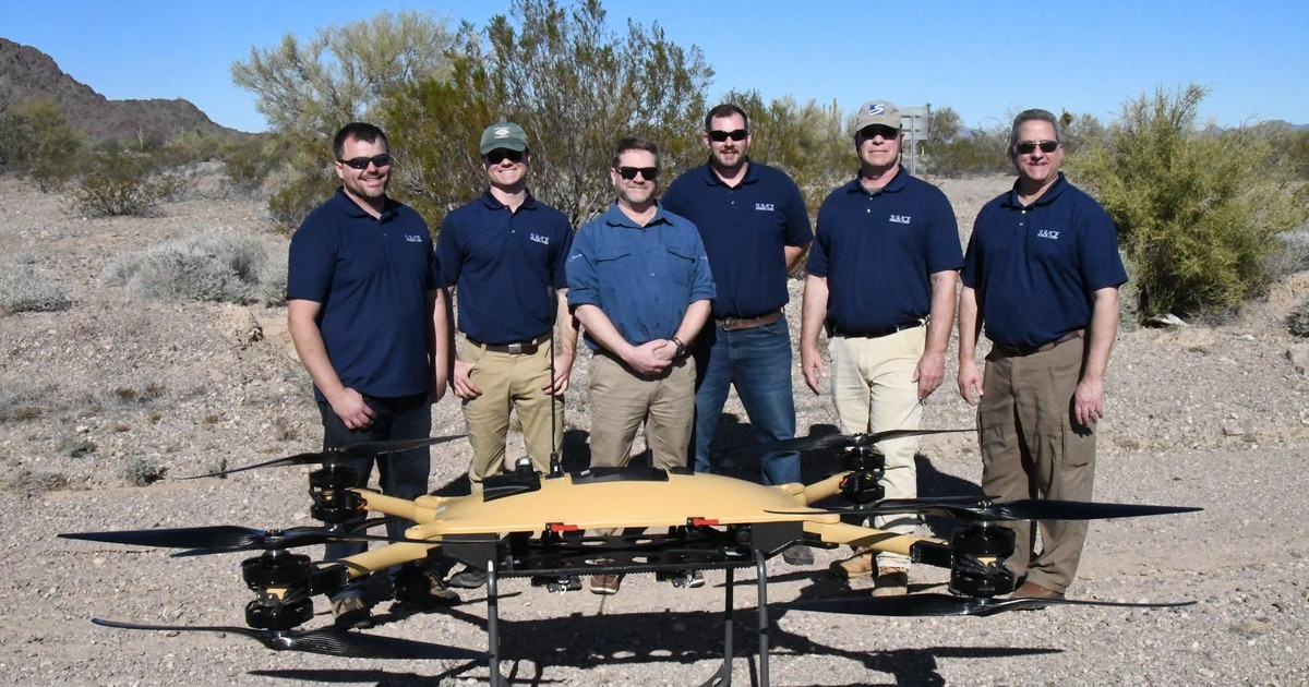 Delivery drones carry dinner to marines in battle