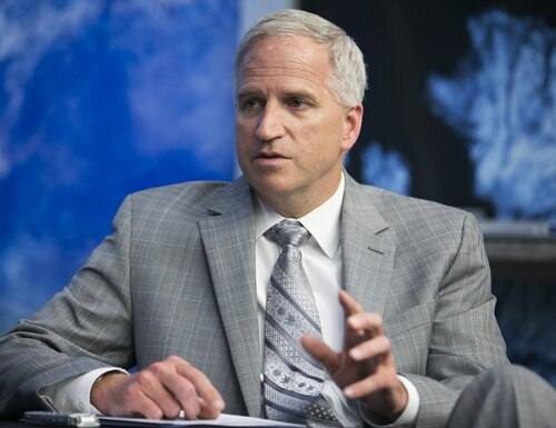 Robert Cardillo, former director of the National Geospatial-Intelligence Agency, has joined Planet Federal as chief strategist and chair of the board. (Mike Morones/Staff)