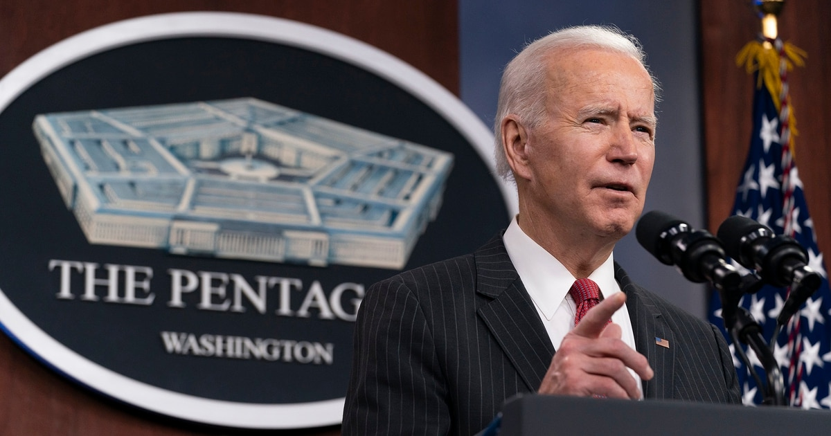 Biden national security guidance calls to increase diplomacy, downplay nukes, end Afghanistan conflict
