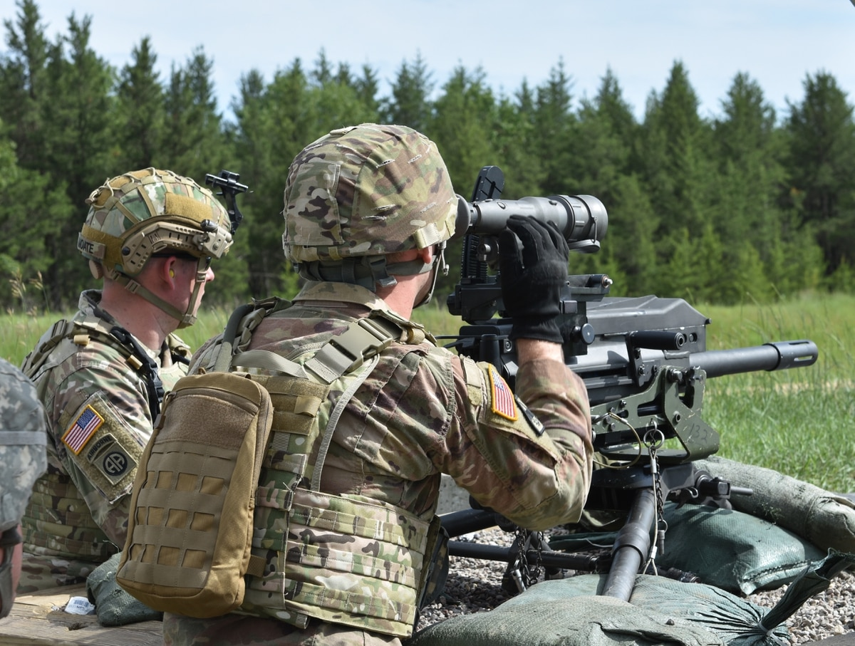U.S Army NG • Squad Automatic Weapons & Grenade Launcher Live Fire • Sept 9 – 2020