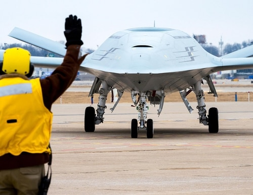 The Navy's new unmanned campaign plan lands with mixed reviews. (Boeing)