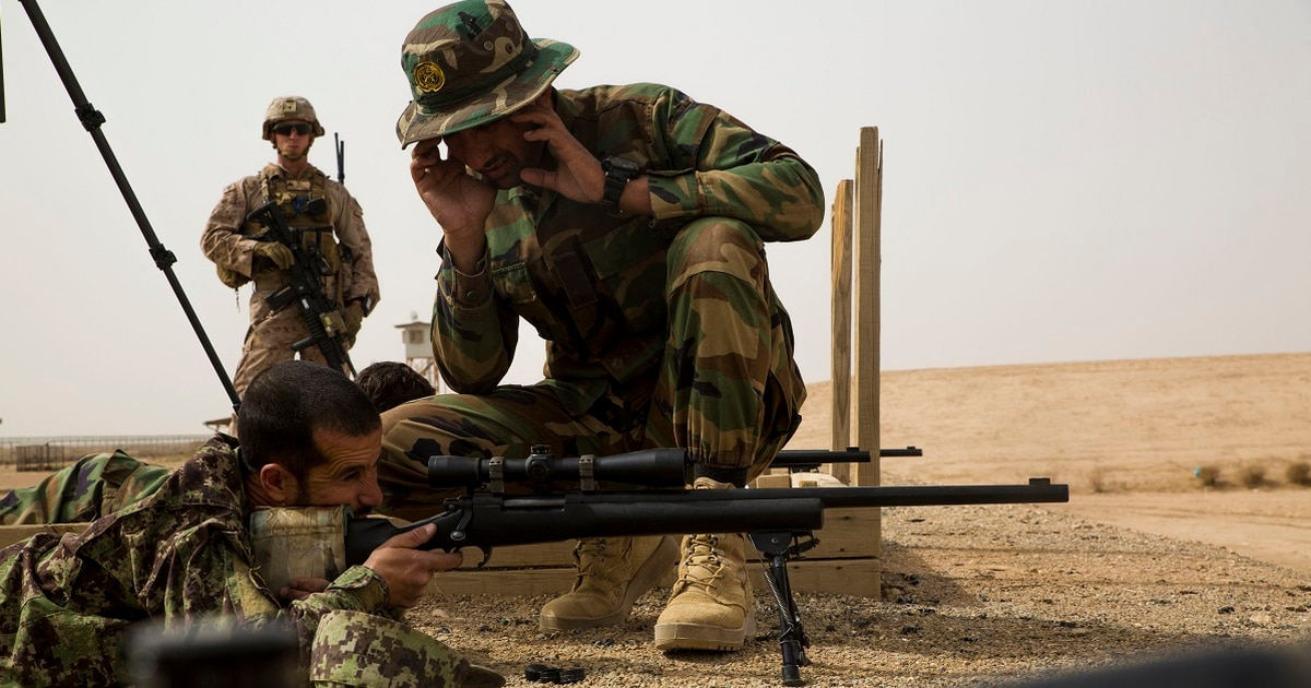 This is why Marines are training Afghan snipers in Helmand