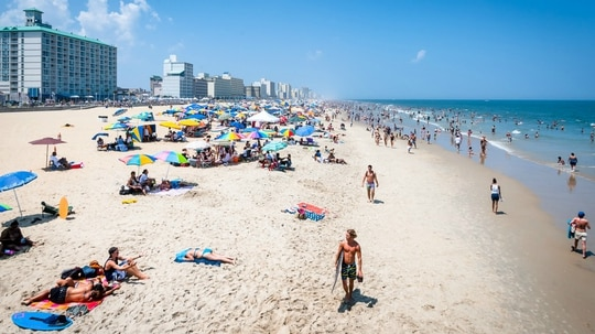 Veterans make up nearly 17 percent of the adult population in Virginia Beach, Virginia, one of the top large cities for veterans in a new Military Times ranking. (City of Virginia Beach)