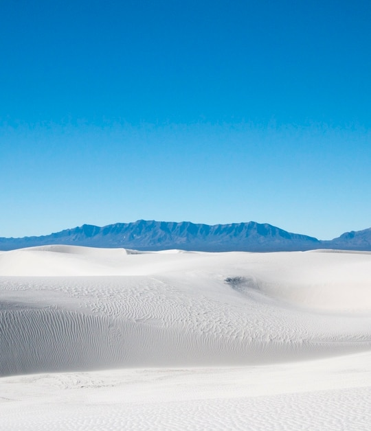White Sands National Park in New Mexico. (National Park Service)