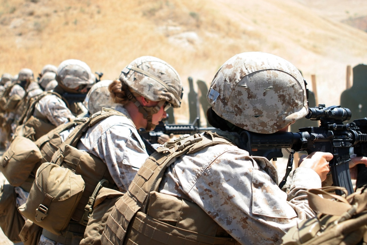 Female Marines create a Facebook group to say 'Enough is enough'