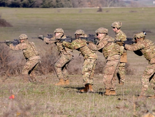 The Close Combat Lethality Task Force could radically change the lives of infantry and ground combat troops across the services. It aims to transform recruitment, retention, training and equipment. (Elena Baladelli/Army).