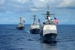The US Navy's top officer says he'll trade growing the fleet for readiness