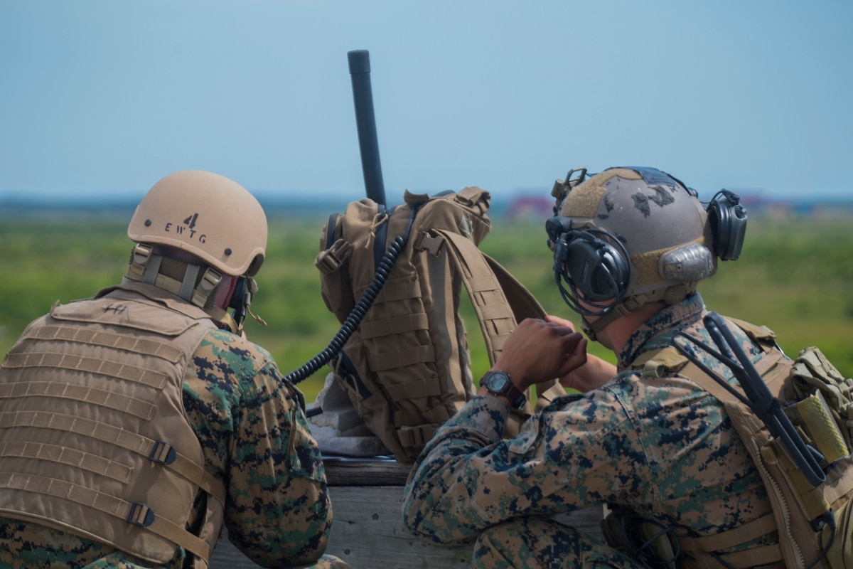 U.S. Marine Joint Terminal Attack Controllers • Keep Fire Power in Order