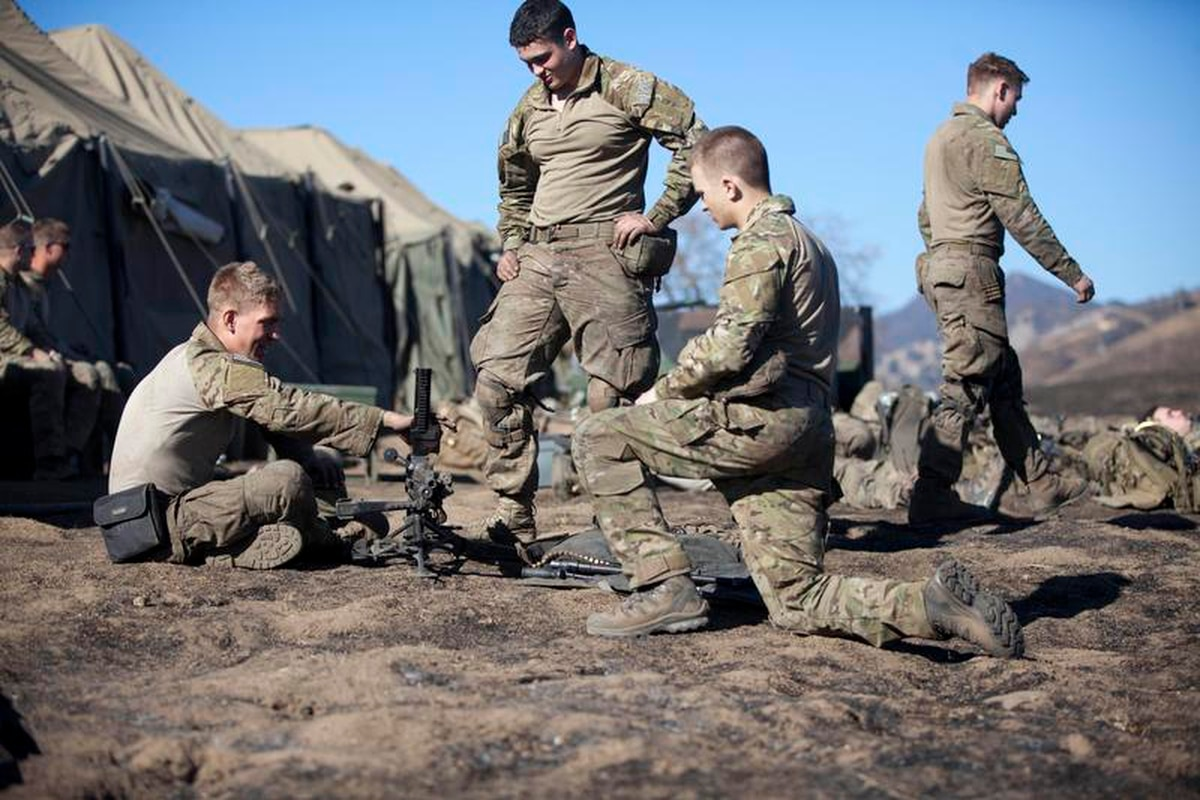 Rangers can wear MultiCam at home