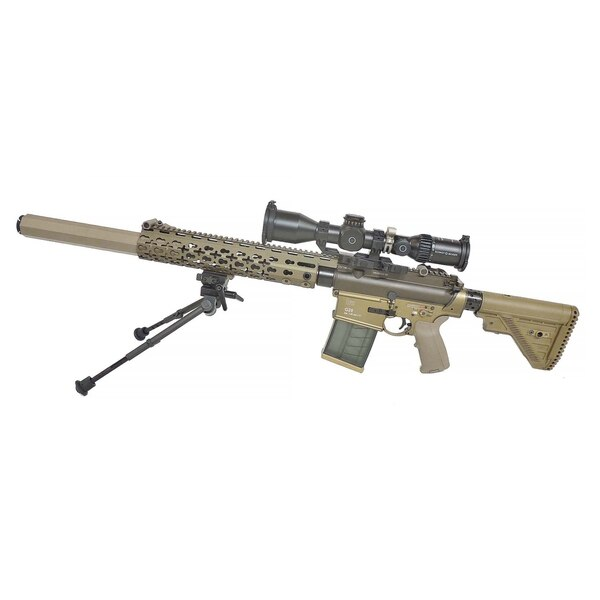 Heckler & Koch confirmed that a modified version of it's G28 rifle was the model that won the Army's Compact Semi-Automatic Sniper System contract.