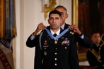 Capt. Flo Groberg receives Medal of Honor: 'On his very worst day... he showed guts'