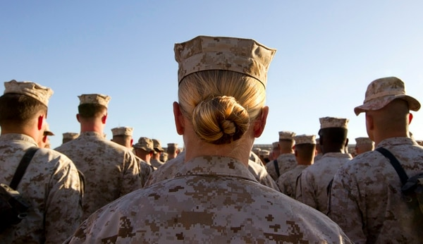 A new study found more military women struggle with infertility than civilian women. (Paula Bronstein/Getty Images)