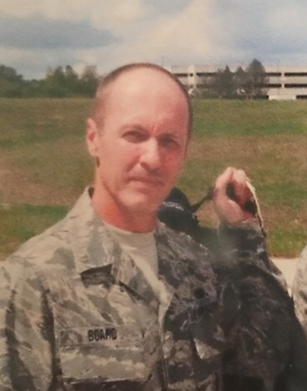 Technical Sgt. David Board of the West Virginia Air National Guard died in a non-combat related incident in Kuwait Aug. 2. (Courtesy of the Board family)