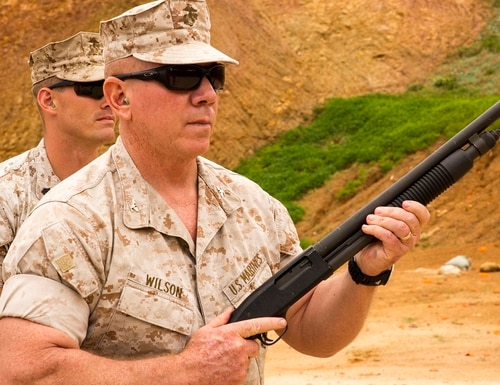 """The retirement decision was the next step in """"total exoneration"""" for former Col. Daniel Wilson, his lawyer said Tuesday. (Cpl. Adam B. Miller/Marine Corps)"""