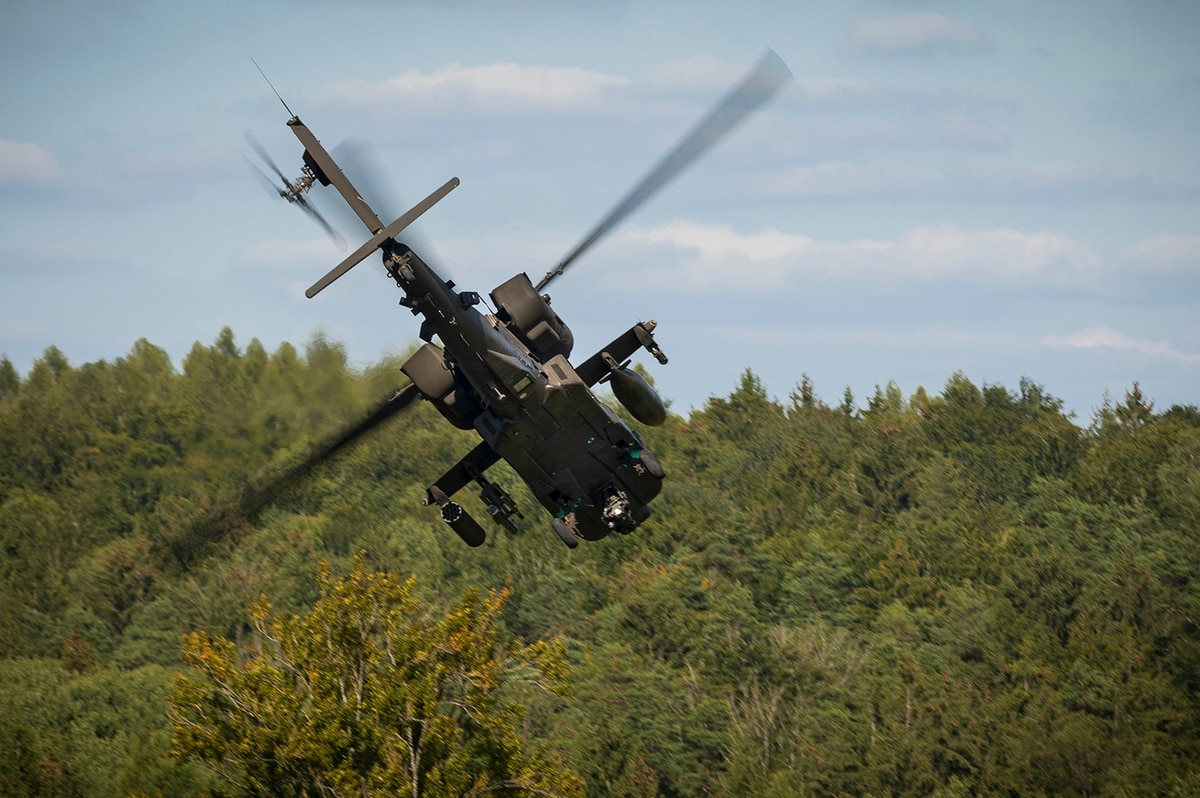 U.S. Army Apache Attack Helicopter • Germany June 23, 2020