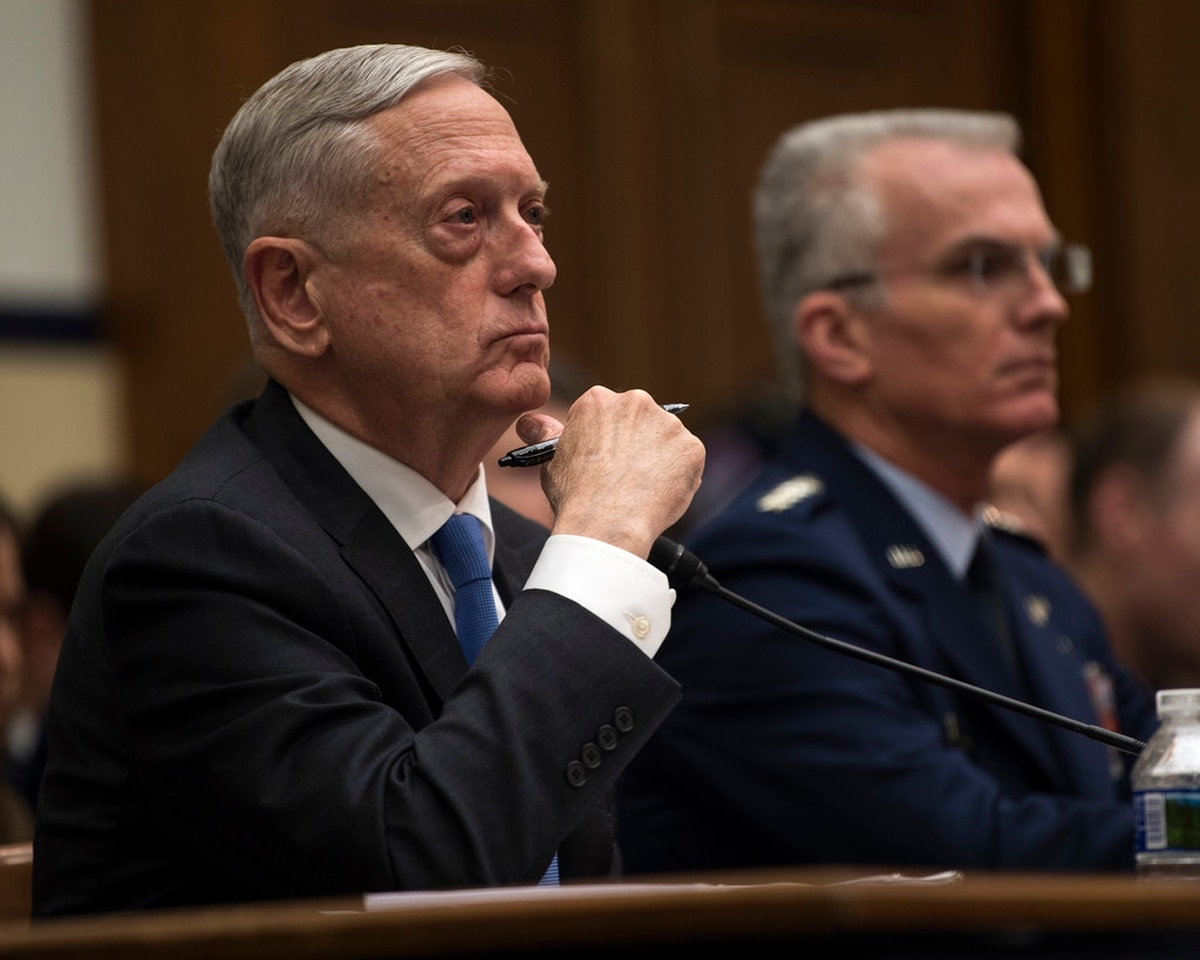 Mattis: US military's competitive edge has 'eroded'