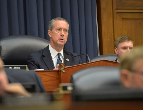 House Armed Services Committee Chairman Mac Thornberry questions Secretary of Defense Ash Carter during a hearing on U.S. policy and strategy in the Middle East in the Rayburn House Office Building in Washington, D.C., June 17, 2015. (DoD Photo by Glenn Fawcett/Released)