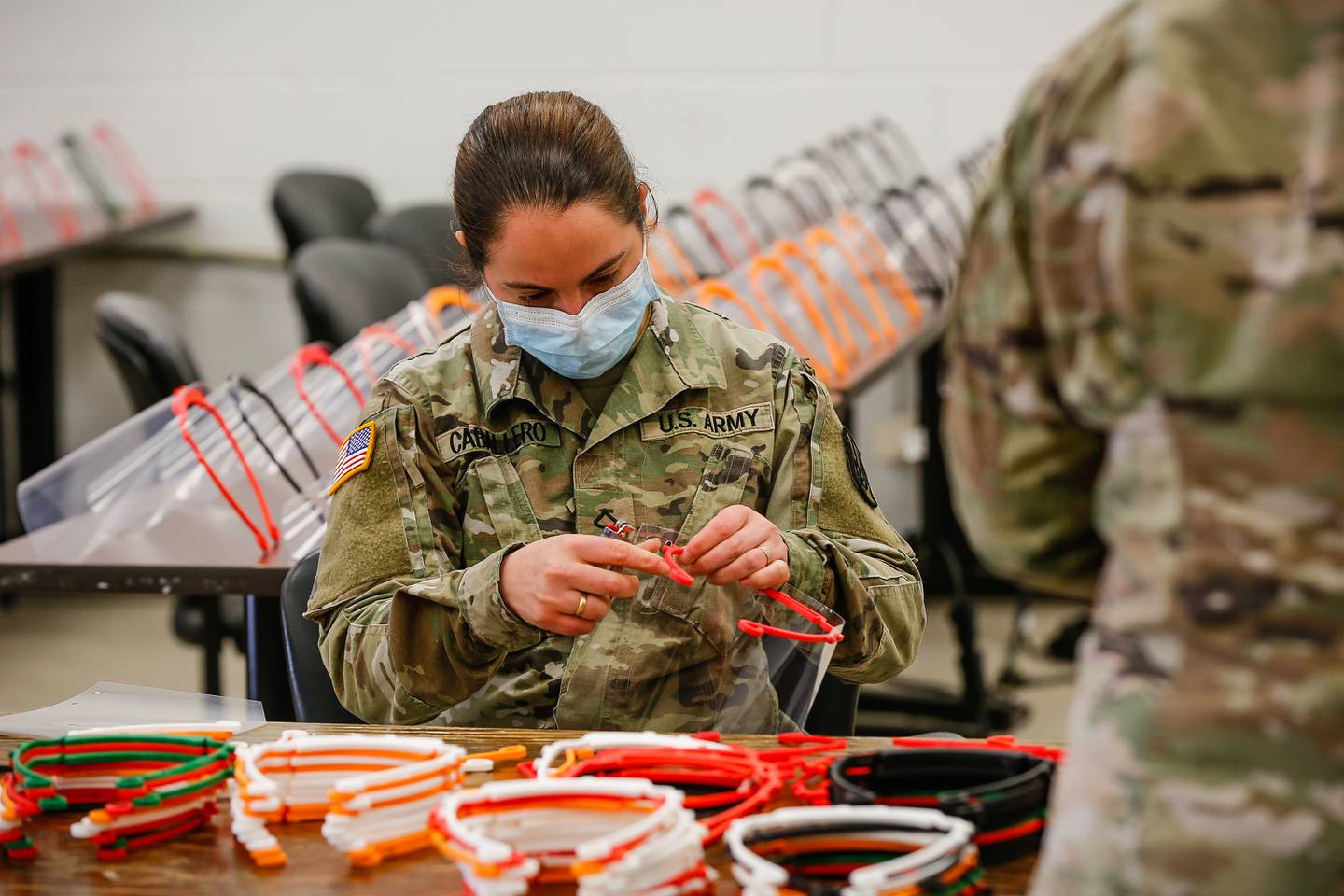 Operation Dragon Mask: XVIII Airborne Corps Creates and Distributes Personal Protective Equipment