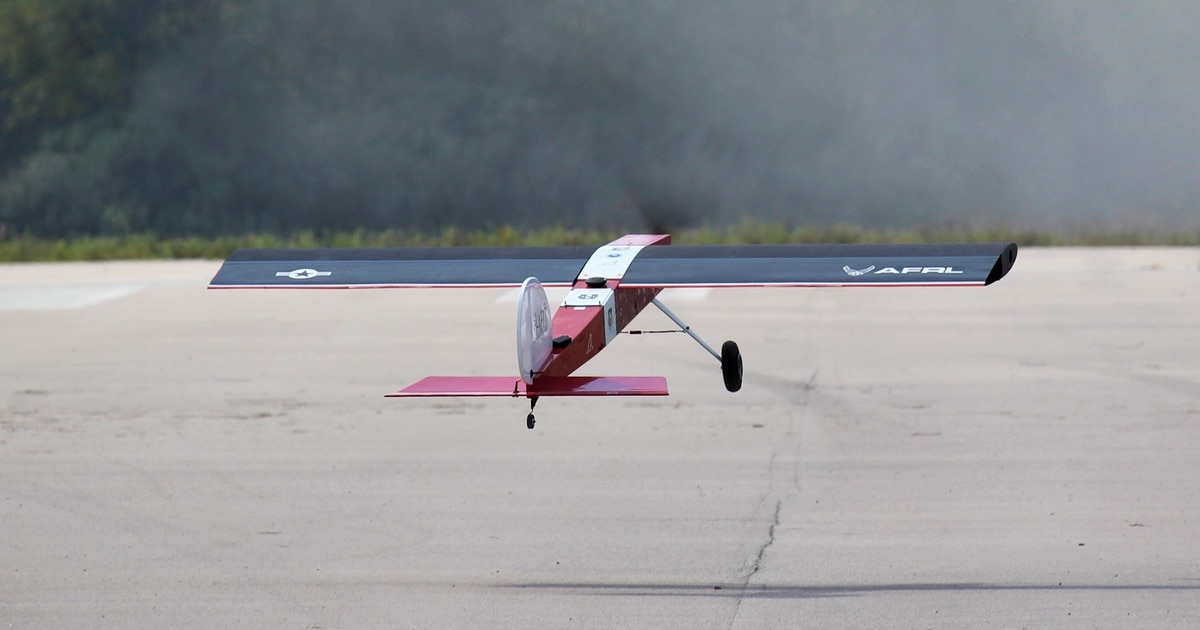 Can special 'skin' make an unflappable new Air Force drone?