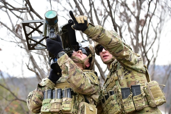The Army is reinvigorating training for soldiers on the FIM-92 Stinger, a man-portable air defense system, to help provide short-range air defense at the unit level. (Chin U. Pak/Army)