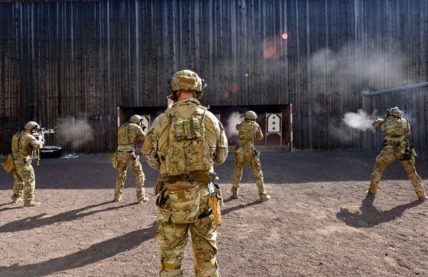Special operations soldiers take part in close quarters battle training. The high demands on SOF troops mean the operational mindset never stops, says one who's been there. (U.S. Special Operations Command)