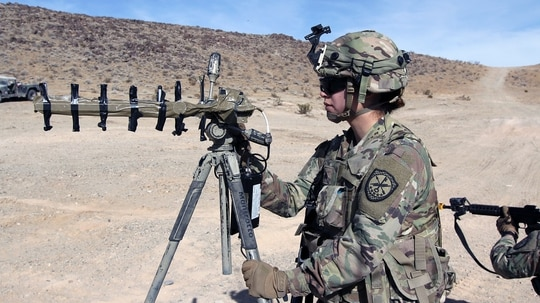 Army leaders are ok with accepting some risk in haste to create new multidomain units. (Steve Stover/Army)
