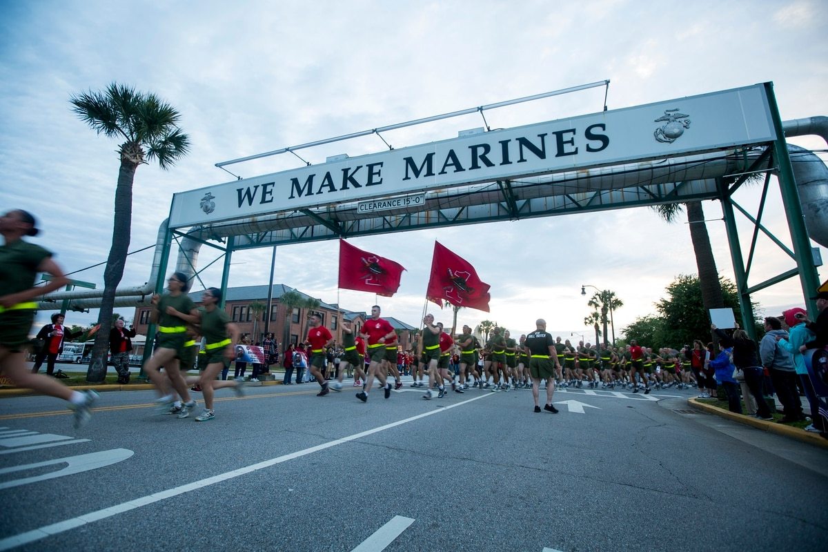 Marine Corps considers closing South Carolina, San Diego recruit training depots to open new location