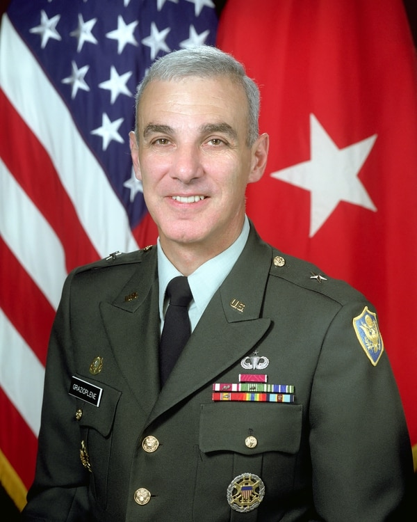 James Grazioplene, shown when he was a brigadier general. (Scott Davis/Army)