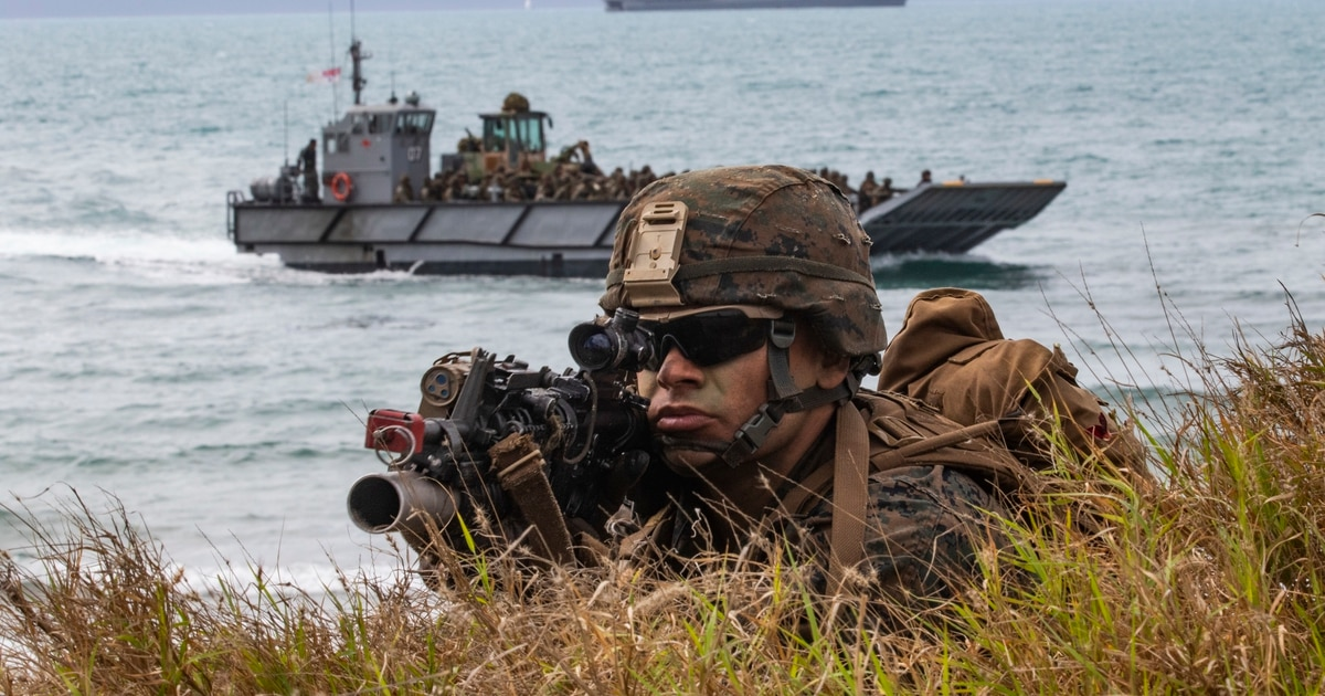 New Corps formation: Marine littoral regiment may be how the Corps fights future battles