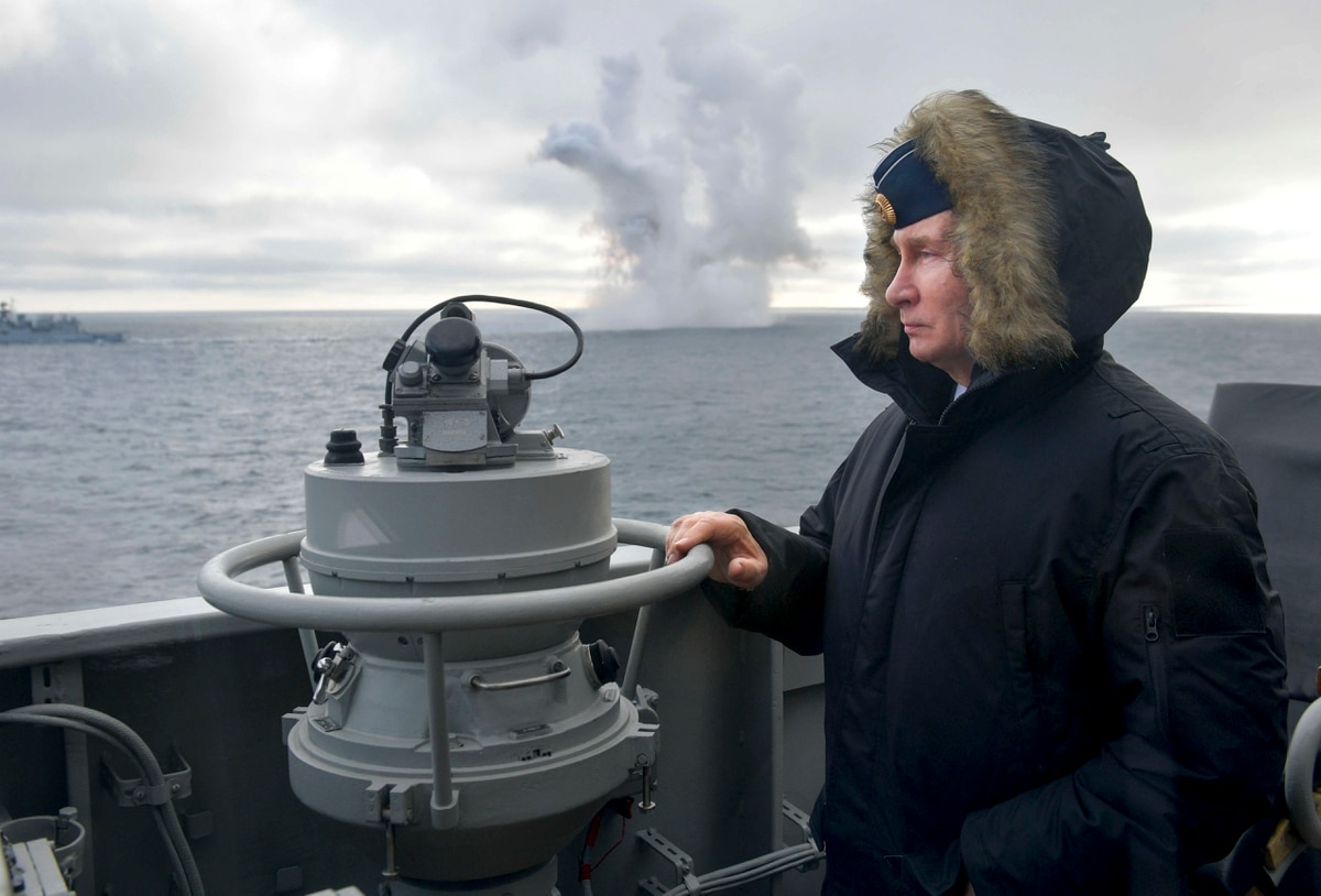 Your Story: Russia's Putin oversees hypersonic missile test in Crimea
