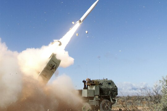 Lockheed Martin's PrSM missile was tested for a third time at White Sands Missile Range in New Mexico on April 30, 2020. (Lockheed Martin)