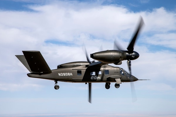 Pesawat tilt-rotor V-280 Valor milik Bell. (Foto milik Bell)