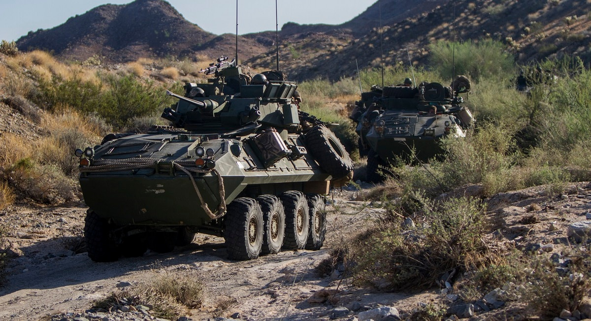 1 Marine dead, 6 injured after light armored vehicle
