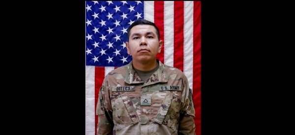 Pfc. Andrew Ortega was killed in a training accident in Germany on Sunday. (Army)