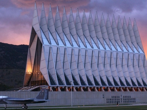 The U.S. Air Force Academy confirmed its first COVID-19 case Friday among its cadet population. (Air Force Academy)