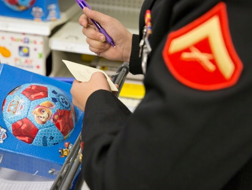 A former Marine embezzled more than $500,000 from the Marine Corps and Toys for Tots. (Pfc. Drake Nickels/Marine Corps)