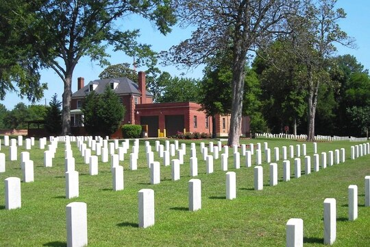 Raleigh National Cemetery in North Carolina is shown in September 2011. (Photo courtesy of VA)