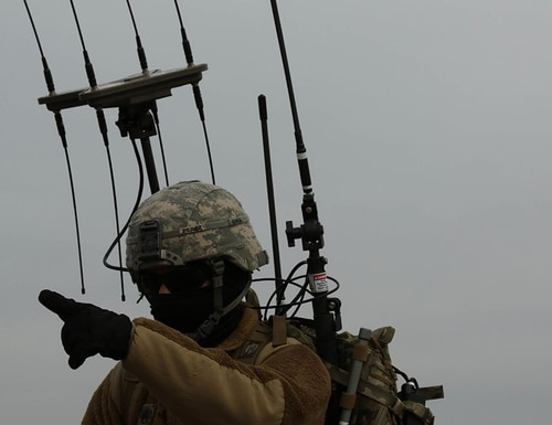 The Army is experimenting with new electronic warfare platoons. (Sgt. Michael C. Roach/Army)