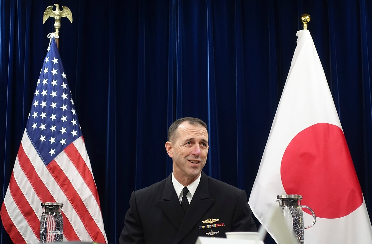 CNO urges China to avoid confrontations, refuses to back