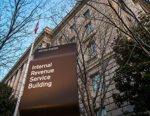 The IRS is calling 10,000 employees back to the office. (J. David Ake/AP)