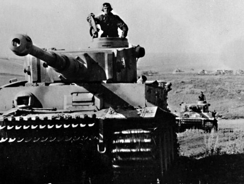 The Battle of Kursk began July 5, 1943 and lasted more than a month. The German surprise assault and subsequent Soviet counterattack involved some 6,000 tanks and 2 million troops.