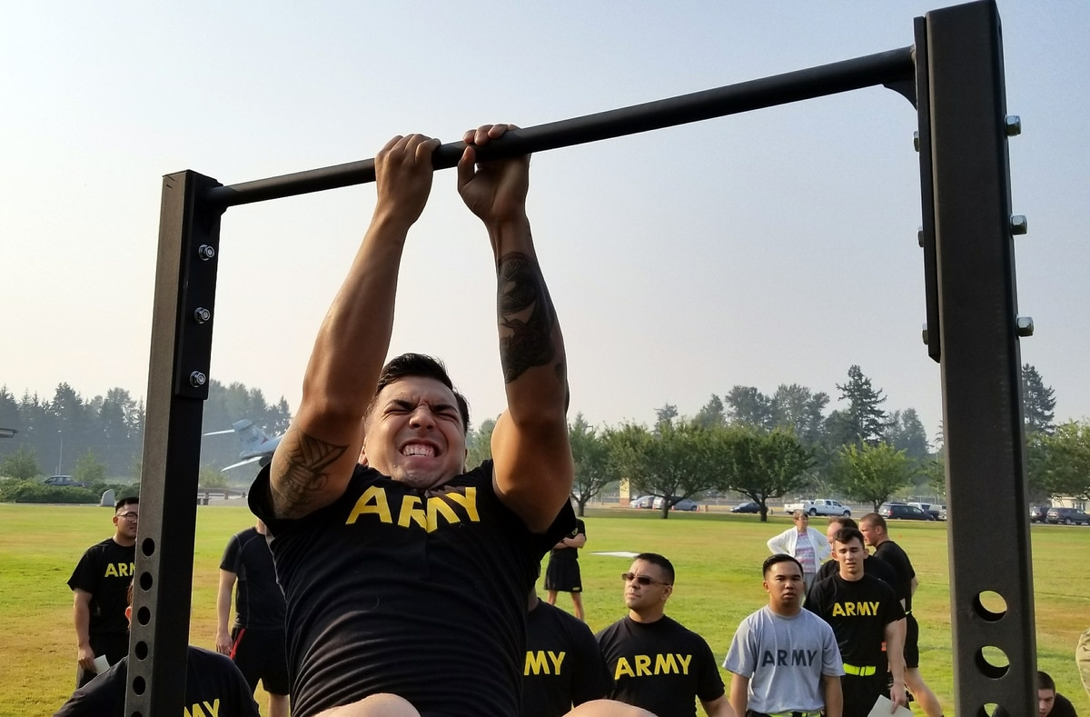 The Army is testing a new combat fitness test