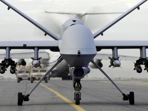 The U.S. Navy has purchased two MQ-9A Reaper systems it's been using in Afghanistan since 2018. (U.S. Air Force)