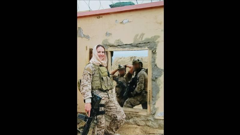 Navy Senior Chief Petty Officer Shannon Kent