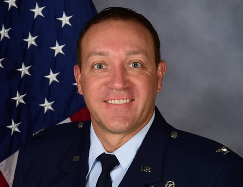 Col. Derek Stuart was removed from command of the 14th Operations Group at Columbus Air Force Base in Mississippi on Jan. 2 after the commander of the 19th Air Force lost faith in his ability to lead. The group he commanded oversaw specialized undergraduate pilot training at Columbus. (Air Force)