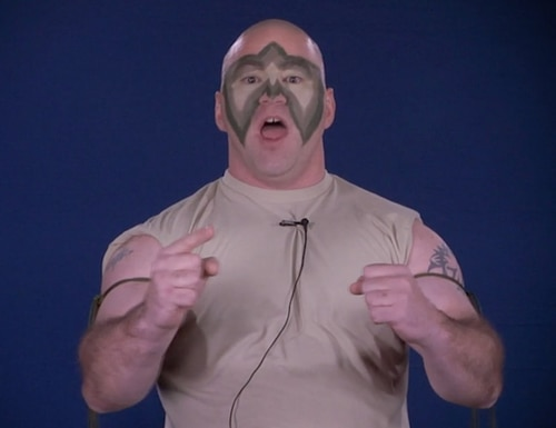 Army's latest fitness video leaves something to be desired. (Screenshot via DVIDS)