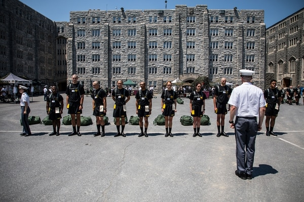 A West Point cadet has been freed from prison after his 21-year conviction was overturned. (Michelle Eberhart/Army)
