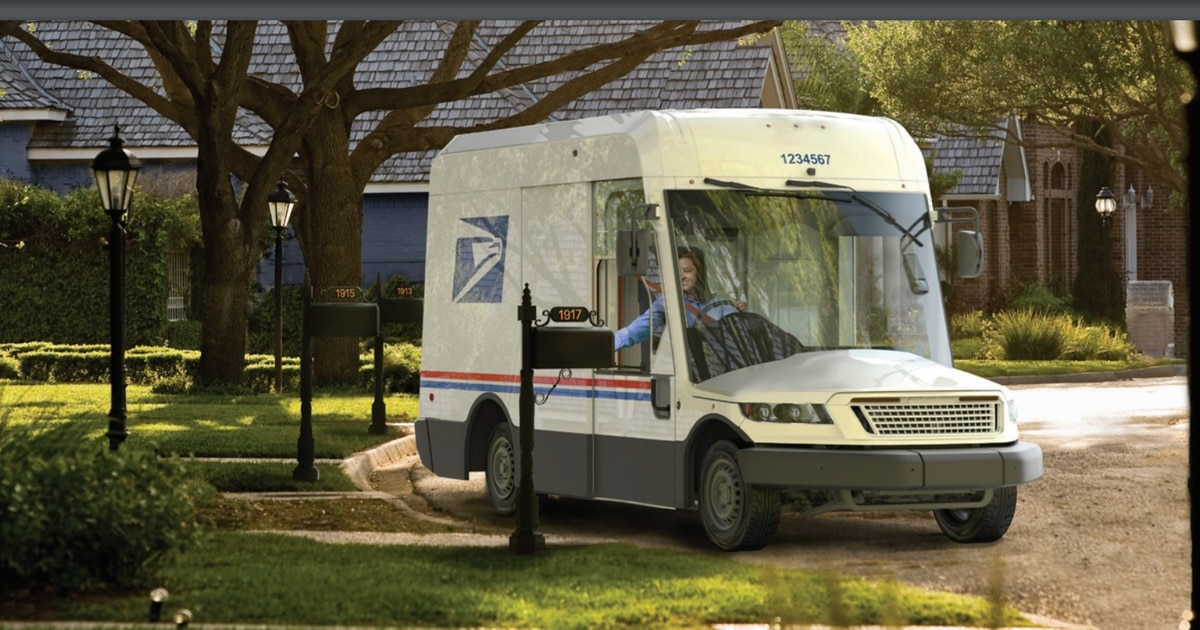 How a military vehicle contractor plans to make a USPS truck that lasts 'almost forever'