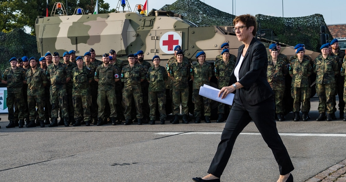 More money, more missions: German defense minister unveils her plan for the Bundeswehr