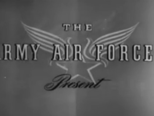 Video image from a 1943 Army Air Forces training video on Arctic survival. (US Army Air Force/Internet Archive)